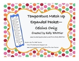 Temperature and Thermometer Match Up -  Celsius Only!!