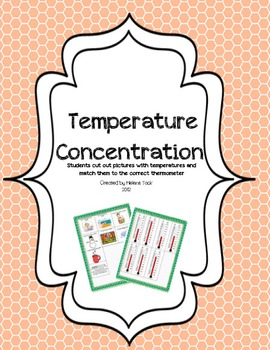 Temperature and Thermometer Concentration