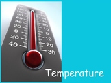 Temperature and Thermometers PowerPoint