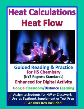 Temperature, Kinetic Energy & Heat Calculations - Guided Study Notes for Chem