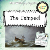 Shakespeare Tempest Word Wall