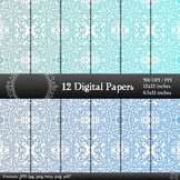 Template Embellishment Piecing Page Scrapbook Texture Kit