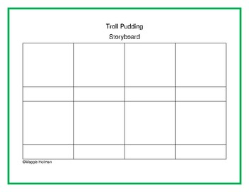 Template : Troll Pudding Storyboard
