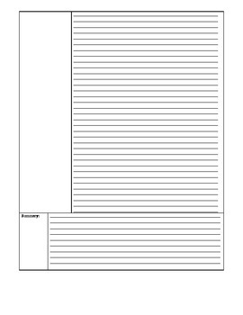 Template: Two Column Notes-2 page