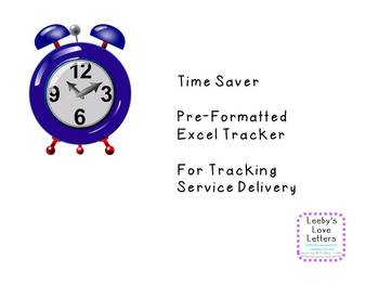 Time Saver Template for Logging Time with Students