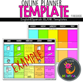 Template for ONLINE Planner COVID19