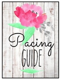 Template for PACING GUIDE, Annual Plans, Scope & Sequence,