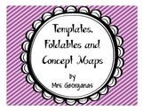 Interactive Journals: {Foldables, Concept Maps and Templates}