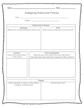 Forms for Analyzing Texts