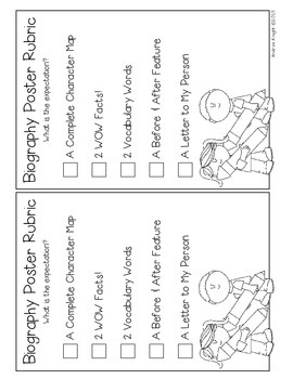 Templates for Biography Reports {Grades 1-3}