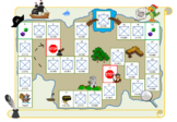 9 Templates for Chutes and Ladders for Language Therapy