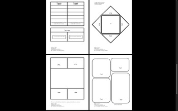 Templates for Interactive Notebooks and Lapbooks
