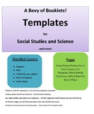 Templates for Science and Social Studies - Booklets, Defin