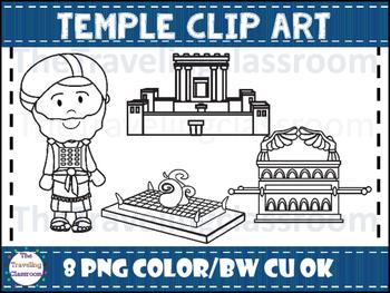 Temple Clip Art