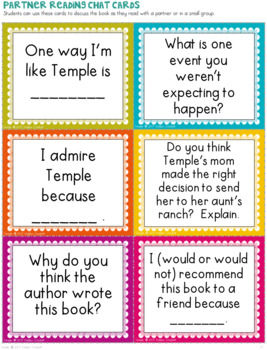 Temple Grandin Companion Activities for Read Aloud and Reading Centers
