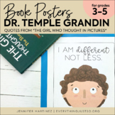 Temple Grandin Inspirational Quote Posters   Character Ed   Encouragement Poster