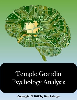 Temple Grandin Psychology Analysis By Lesson Strategies Tpt