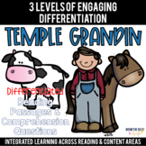 Temple Grandin Reading Passages Leveled Texts