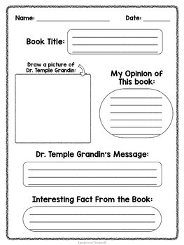 Temple Grandin : The Girl Who Thought In Pictures | Differentiated Story Graph
