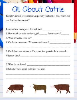 Temple Grandin Unit Study