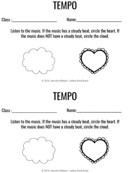 Tempo Assessments for Music