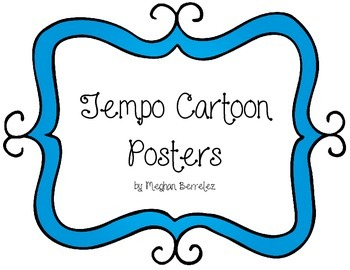 Tempo Cartoon Posters