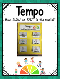 Tempo Foldable: How Slow or Fast is the Music?