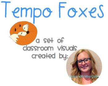 Tempo Fox Classroom Visual Set