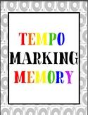 Tempo Marking Memory