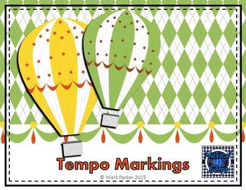 Tempo Markings - Balloon Theme