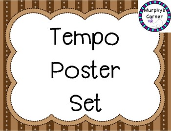 Tempo Poster Set- Transportation and Colors Design