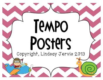 Tempo Posters- Chevron