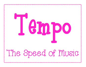 Tempo Posters