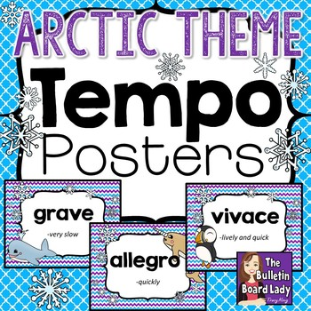 Tempo Posters - Arctic Theme