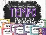 Tempo Posters - Farmhouse Theme