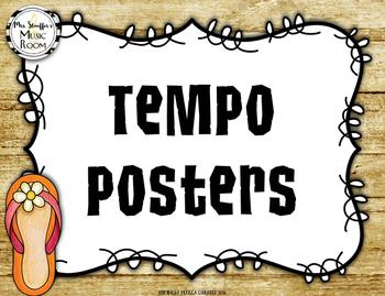 Tempo Posters {Hawaiian Tiki Beach}
