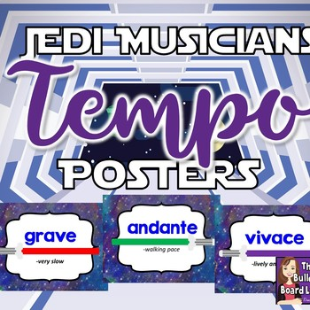 Tempo Posters Space Theme