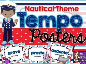 Tempo Posters - Nautical Theme