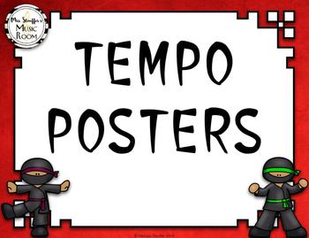 Tempo Posters {Ninja}