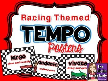 Tempo Posters - Racing Theme