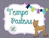 Tempo Posters Set - Woodland Critters Theme