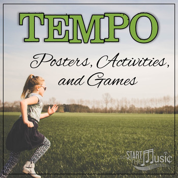 Tempo Posters and Activities