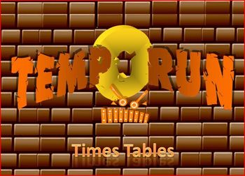 Tempo Run Times Tables – a fast-paced game teaching the times tables