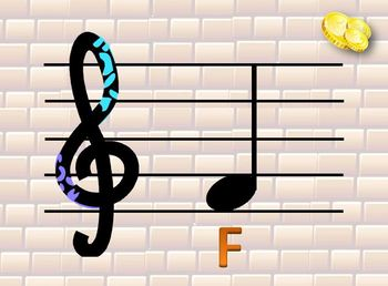 Tempo Run – a game teaching treble clef notes and rhythm values