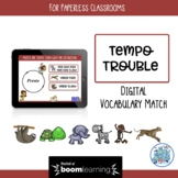 Tempo Trouble BOOM Cards for Paperless Classrooms