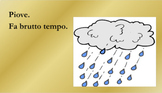 Tempo (Weather in Italian) Google Slides