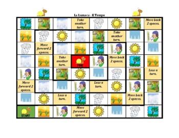 Tempo (Weather in Italian) Lumaca Snail game