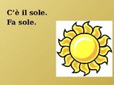 Tempo (Weather in Italian) PowerPoint