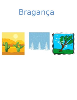 Tempo (Weather in Portuguese) Detectives speaking activity