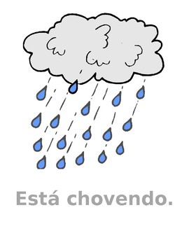 Tempo (Weather in Portuguese) Posters